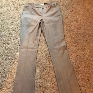 Express dress pants tan/brown herringbone pattern